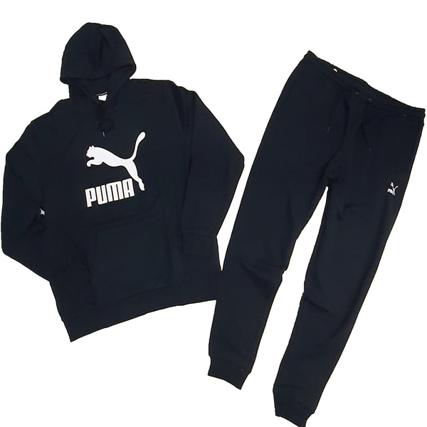 Puma Sweat Suit - Black 599362 11