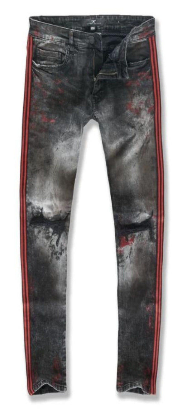 Jordan Craig Jeans For Men - Crimson JM3430 - Action Wear