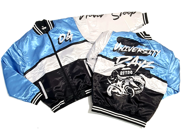 Men Retro Label 1's UNC Jacket - Action Wear