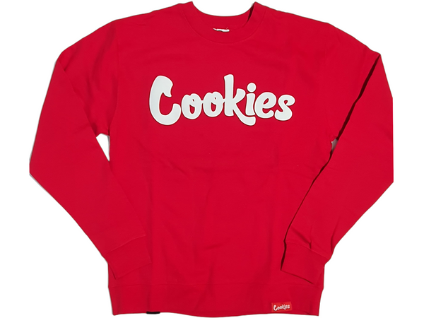 Men Cookies Crewneck 1548C4602 Red - Action Wear