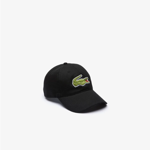 Lacoste Big Croc Cap Black - Action Wear