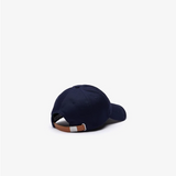 Lacoste Big Croc Cap Navy Blue