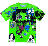 Sugarhill Psycho Lime Green T-Shirt Sh-PSY