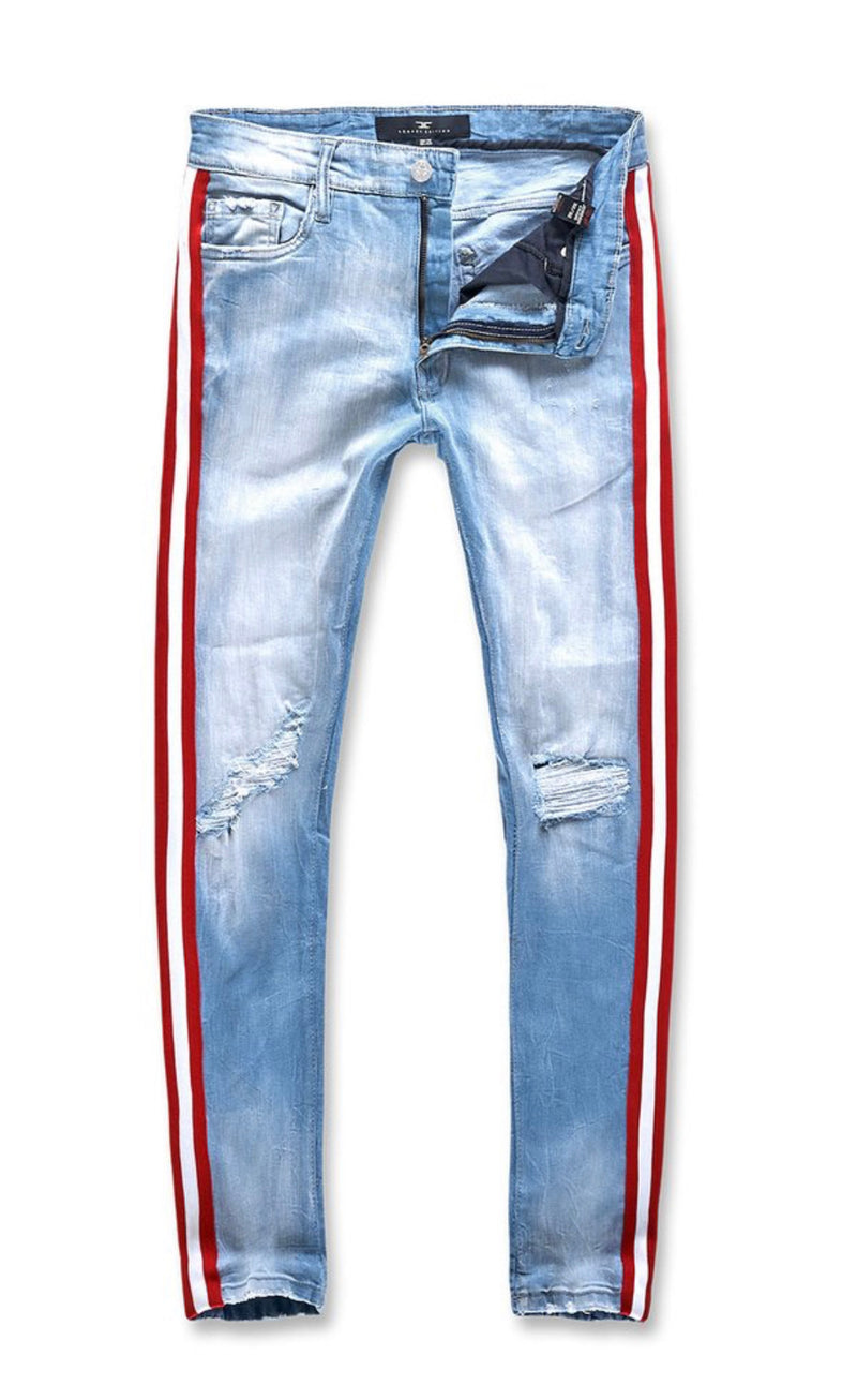 Jordan Craig Prix Striped Denim Jeans Jm3385