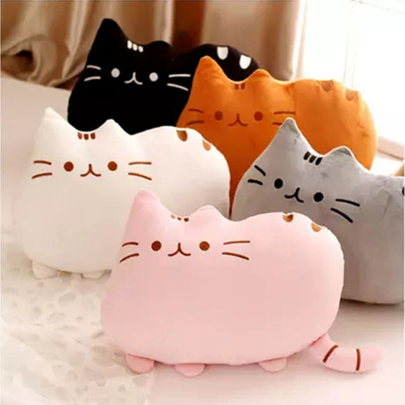 20/40/50cm Pillow Plush Kitties in Multiple Colors - KittyCatPurrfect
