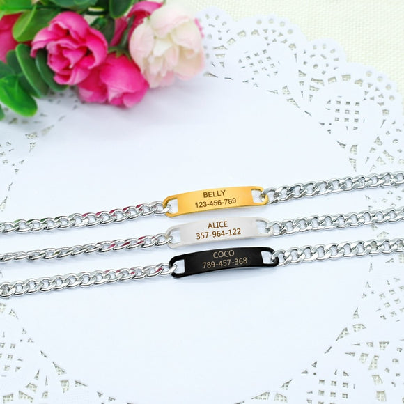 Personalized Chain Collar - KittyCatPurrfect