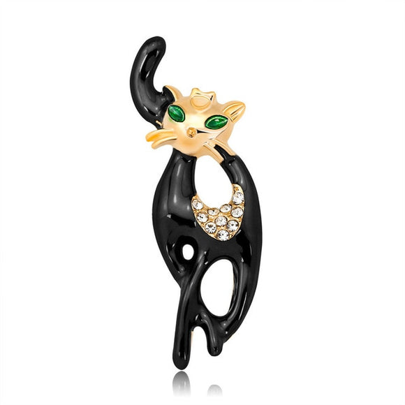 Lively Pride Cat Brooch - KittyCatPurrfect