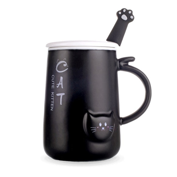 Cute Cat Coffee Mug - KittyCatPurrfect