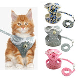 Designer Vest Harness & Leash - KittyCatPurrfect