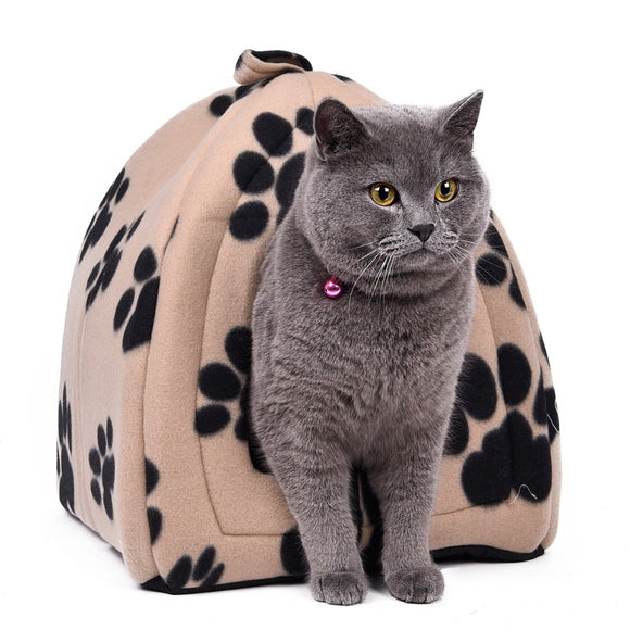 Warm and Cozy Bed & Carrier - KittyCatPurrfect