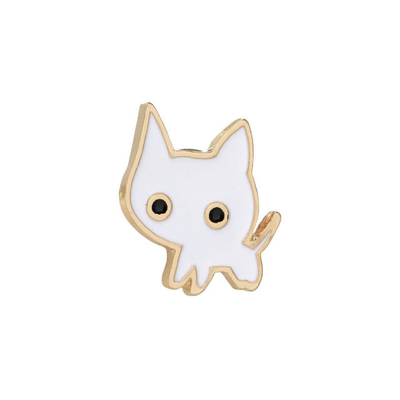 Cartoon Kitty Brooches - KittyCatPurrfect