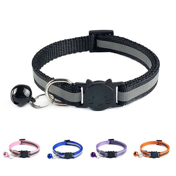 Reflective Safety Quick Release Collar - KittyCatPurrfect