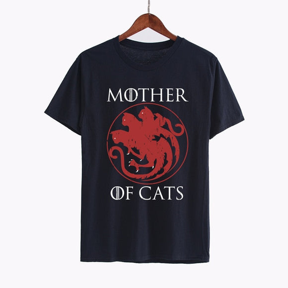 Mother of Cats Shirt - KittyCatPurrfect