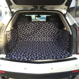 Car Seat Cover Paw Print - KittyCatPurrfect