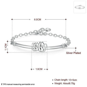 Stainless Steel Couple Bracelet - KittyCatPurrfect