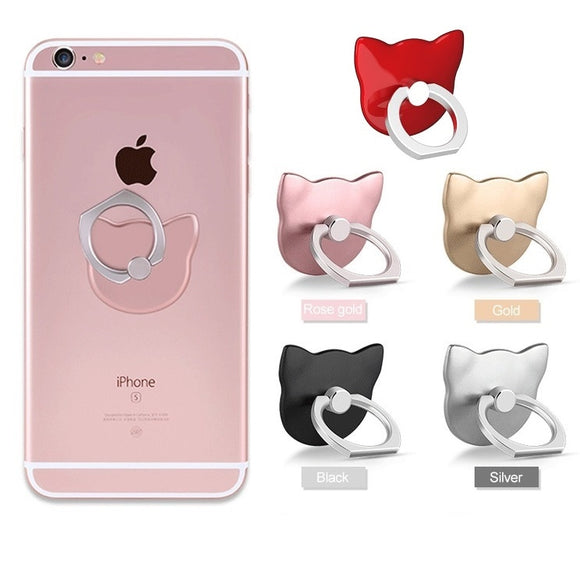 360 Finger Ring Grip Mount - KittyCatPurrfect