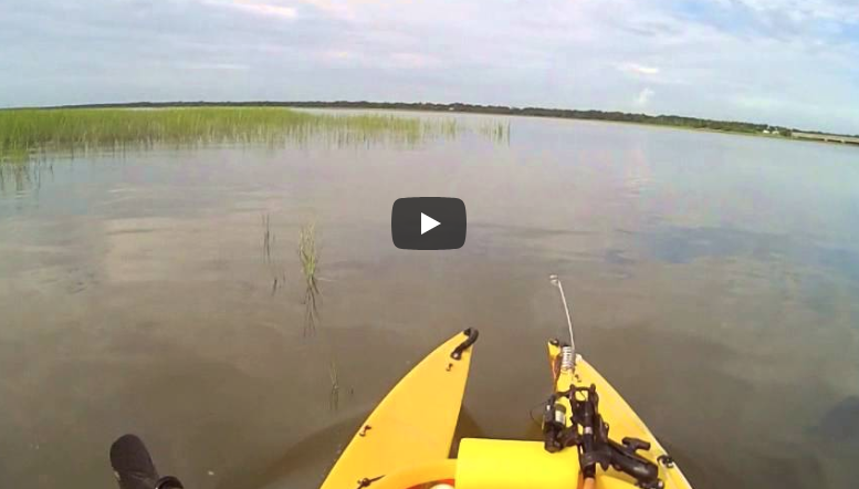 4-Wheel Kayaking in the W500 Kayak