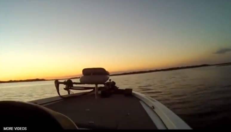 Heading in on Lake Toho