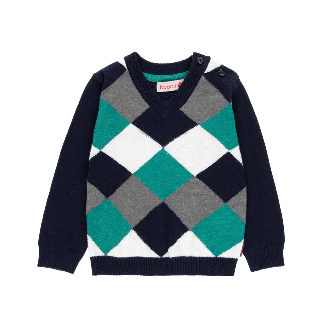Infant Boys Knit Sweater