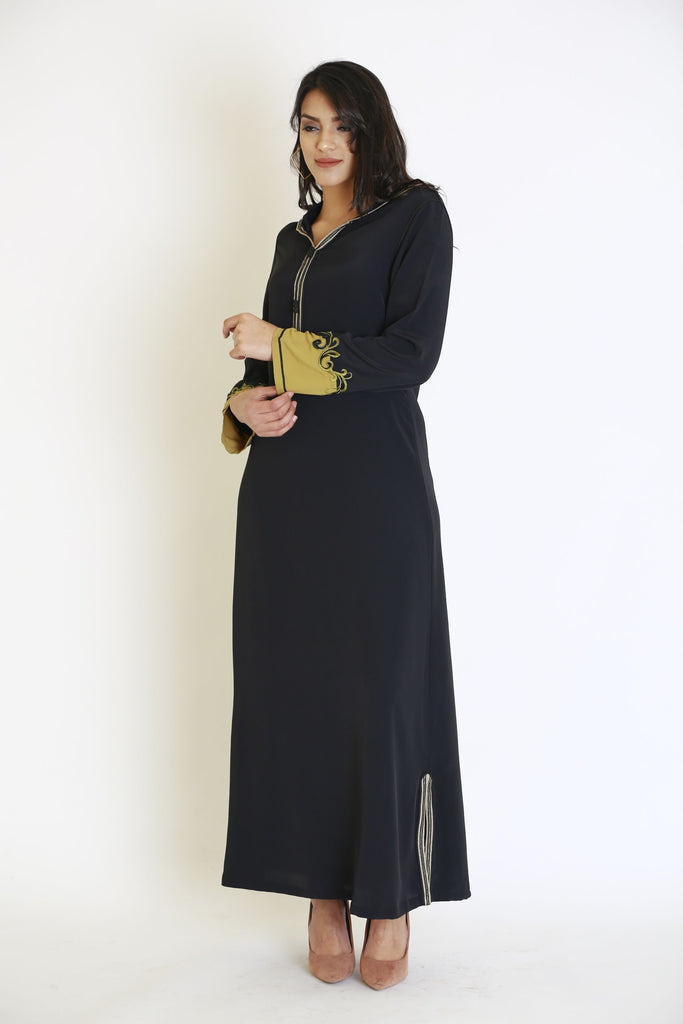 Long Sleeves Maxi Djellaba