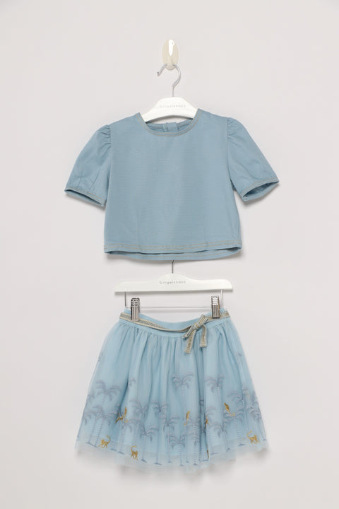 Girls Skirt Set