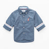 Infant Boys Woven Button-Down Polo