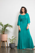 Butterfly Sleeves Maxi Dress
