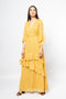 3/4 Sleeves Maxi Dress