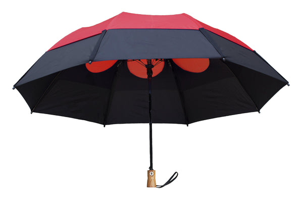 gb-34143-gusbuster-ltd-folding-umbrella-red and black