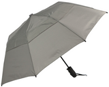 "Haas-Jordan 44"" Auto Open Urbanite Small Sturdy WindProof Umbrella - Grey"