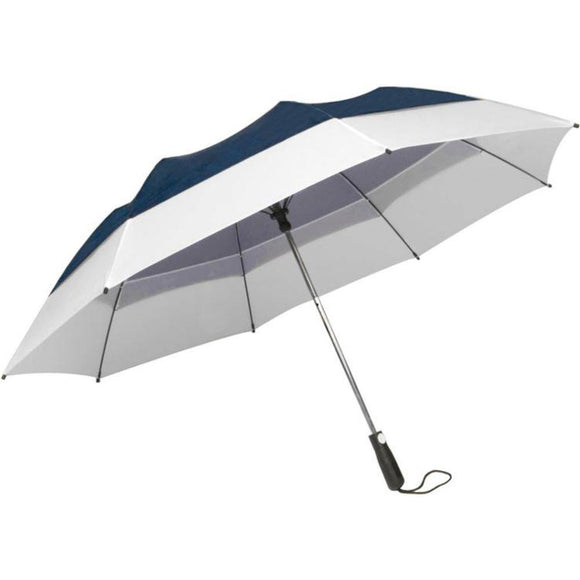 Winbrella Georgetown 58 inch umbrella color Navy and White