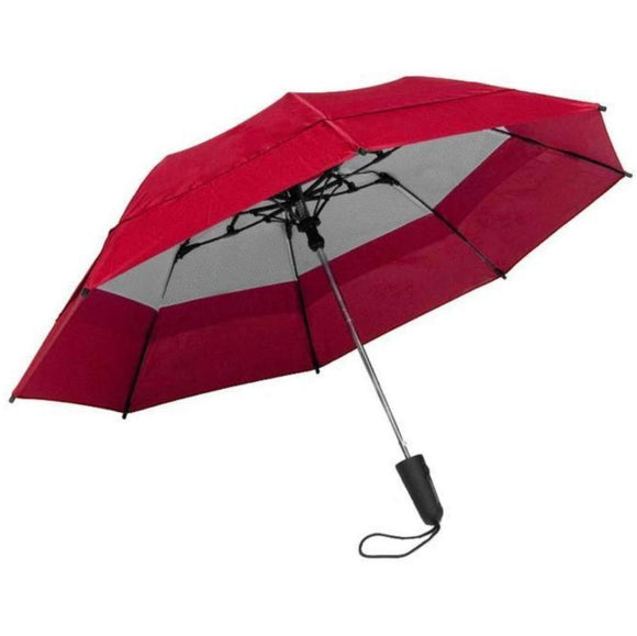Windbrella georgetown travel umbrella color red