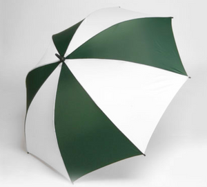 Windbrella golf umbrella color hunter green and white