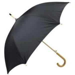 "Haas-Jordan - 48"" Auto Open Fashion Stick Umbrella - White"
