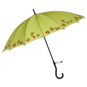 "Leighton - Kyoto 44"" Arc UV Protection Parasol - Green"