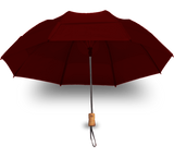 "GustBuster - 43"" Metro Auto Open WindProof Travel Umbrella  **OPTION - Engrave Handle!** - UmbrellasAndBeyond"