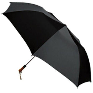 "ShedRain - RainEssentials Jumbo 58"" Auto Open Umbrella with Wood Grip - Navy"