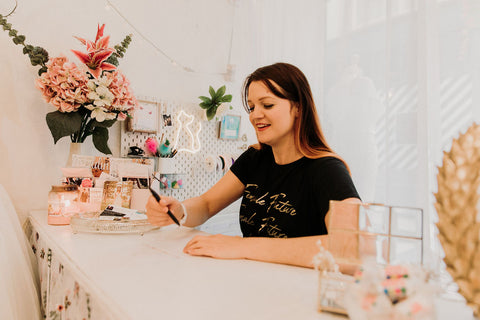 Claire Amelia, Owner of Bridal Emporium in Leeds city centre