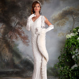 Lucille Brand New Wedding Dress by Eliza Jane Howell 𝗢𝗻𝗹𝗶𝗻𝗲 𝗘𝘅𝗰𝗹𝘂𝘀𝗶𝘃𝗲 in Size 18UK Colour Pearl