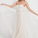 Gennessy Beaded 12707B Brand New Wedding Dress by Wtoo Watters 𝗢𝗻𝗹𝗶𝗻𝗲 𝗘𝘅𝗰𝗹𝘂𝘀𝗶𝘃𝗲