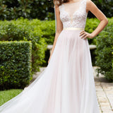 Marnie 14715 Sample Wedding Dress by Wtoo Watters in Size 12US (16UK) Colour Nude/Rose Gold/Ivory