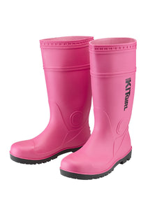 Womens Wellies - Pink - Work Kit Girl