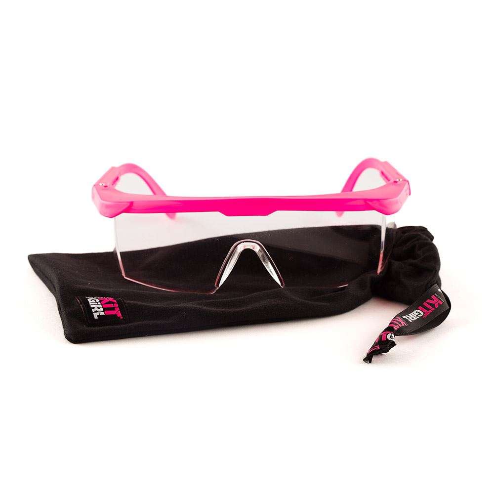 Womens Safety Glasses - Pink - Work Kit Girl