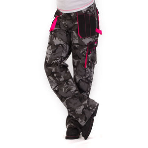 Womens Combat Trousers - Black