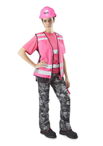 Womens Combat Trousers - Black - Work Kit Girl