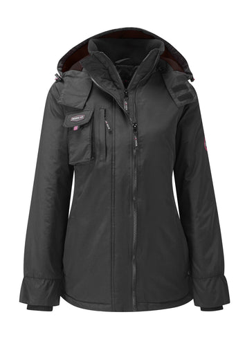 Womens Workwear Jacket - Black - Work Kit Girl