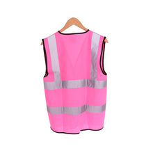 Load image into Gallery viewer, Womens Hi Vis Vest - Pink - Work Kit Girl