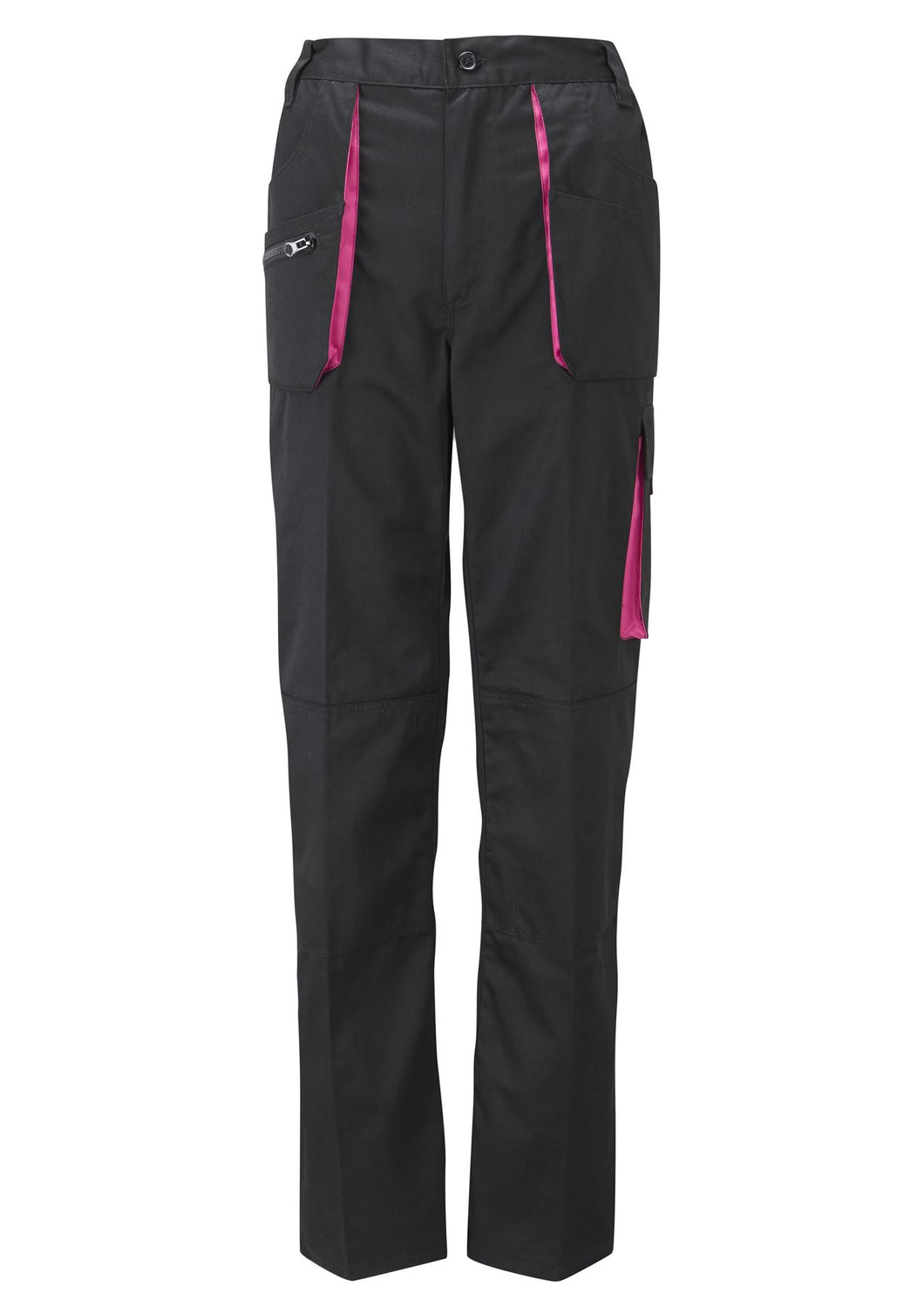 Womens Action Trousers - Black - Work Kit Girl