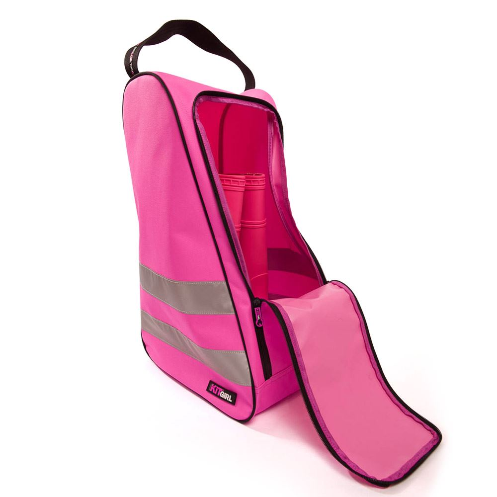 Womens See Me Boot Kit Bag - Pink - Work Kit Girl