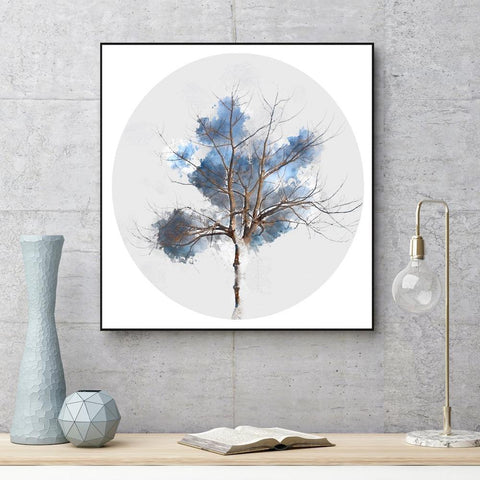 Brown Bare Branches, Tree Painting